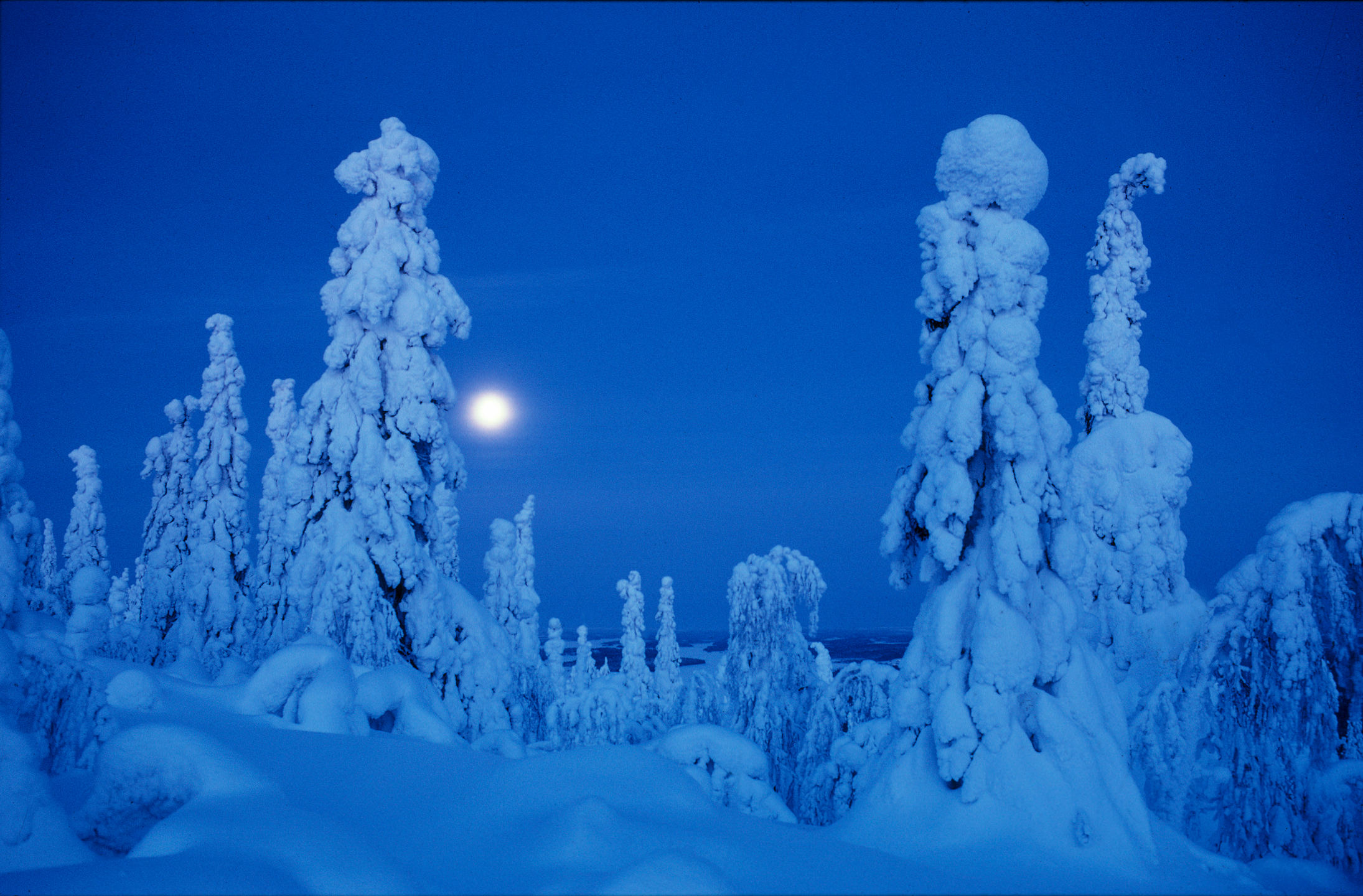 When the sun doesn't rise in northern Finland
